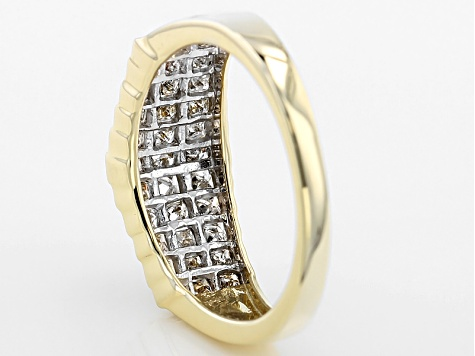 Diamond 10k Yellow Gold 1.00ctw