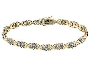 Candlelight Diamond™ 10k Yellow Gold Bracelet 4.00ctw