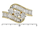 White Diamond 14k Yellow Gold Ring 2.00ctw