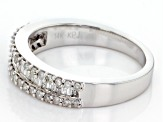 White Diamond 14k White Gold Ring .50ctw