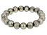 Pistachio Cultured Freshwater Pearl Stretch Bracelet 10-11mm