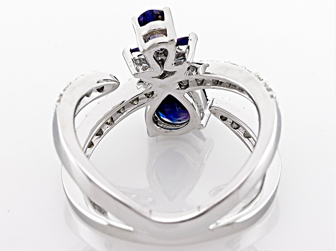 Color Change Lab Created Alexandrite Sterling Silver Ring 2.30ctw
