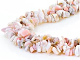 Pink Peruvian Opal Sterling Silver Necklace