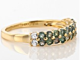 Color Change Chrysoberyl14k Yellow Gold Band Ring 0.83ctw