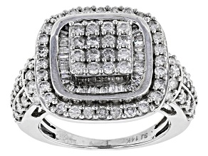 Diamond 14k White Gold Ring 1.80ctw