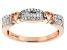 Engild™ White Diamond 14k YG over Sterling Silver Ring .20ctw