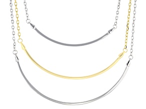 Sterling Silver Over Brass Necklace