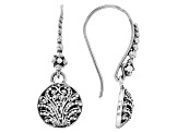 Filigree Sterling Silver Dangle Earrings
