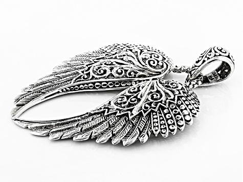 Big Sales Exotic Angel Wings Artistic Women Jewelry Fashion Silver Pendants