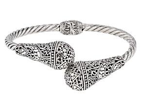 Sterling Silver Bypass Bracelet
