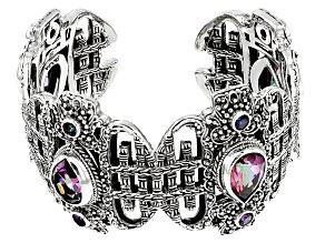 Tempus Fugit™ Mystic Quartz® Silver Bracelet 5.36ctw