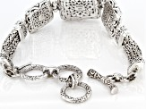 Filigree Sterling Silver Bracelet