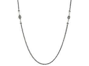 "Sterling Silver 36""Snake Chain Necklace"