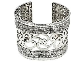 Sterling Silver Basketweave Bracelet