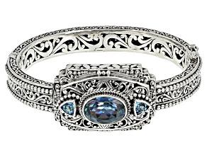 Blue Blueicious™ Quartz Silver Bracelet 5.90ctw