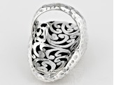 Sterling Silver Woven Look Ring