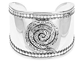 Sterling Silver Swirl Bracelet