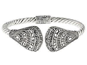 Sterling Silver Fan Bracelet
