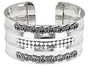 Sterling Silver Jawan Cuff Bracelet