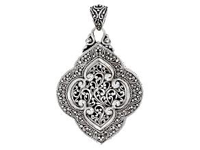 Sterling Silver Reversible Pendant