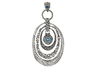 Rio Aqua™ Mystic Topaz® Silver Pendant .90ctw