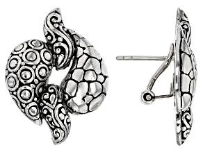 Sterling Silver Link Earrings