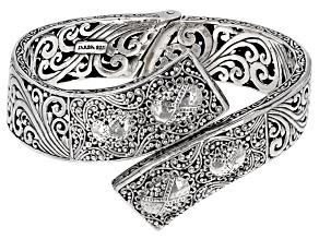 Silver Bypass Bracelet