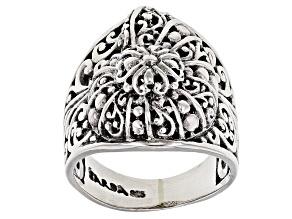 Sterling Silver Seashell Ring