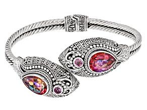 Forgetful™ Mystic Quartz® Silver Bracelet 9.02ctw