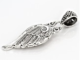 Sterling Silver Filigree Angel Wing Pendant