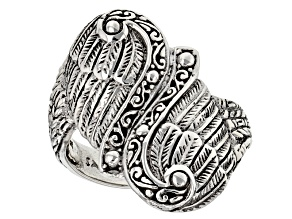 Sterling Silver Angel Wing Ring