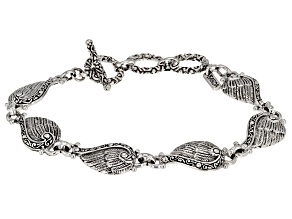 Sterling Silver Angel Wing Bracelet