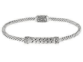 Sterling Silver Cable Bracelet