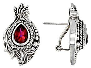 Savage Fire™ Mystic Quartz® Sterling Silver Earrings 2.52ctw