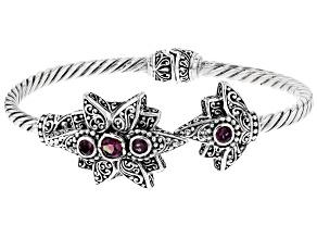 Wild Side™ Mystic Topaz® Silver Bracelet 1.41ctw