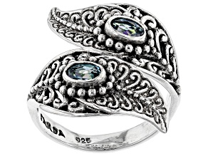 Alter Ego™ Mystic Topaz® Sterling Silver Ring 0.56ctw