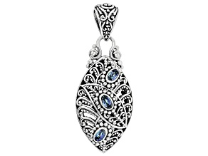 Alter Ego™ Mystic Topaz® Sterling Silver Pendant 0.84ctw