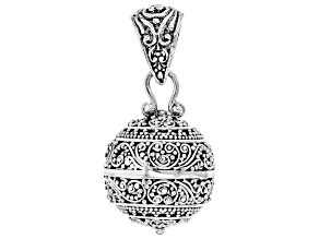 Sterling Silver Harmony Ball Pendant