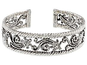 Sterling Silver Turtle Cuff Bracelet