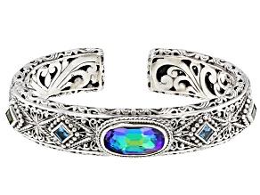 Purple Roman Nights™ Mystic Quartz® Silver Bracelet 6.13ctw