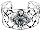 Blue Waterspout™ Mystic Quartz® Sterling Silver Bracelet 5.01ctw