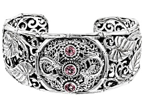 Purple Pale Plum™ Mystic Topaz® Sterling Silver Bracelet 1.53ctw