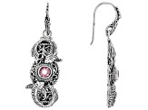 Purple Pale Plum™ Mystic Topaz® Sterling Silver Earrings 1.02ctw