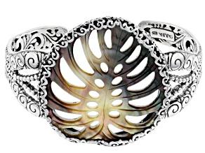 Black Shell Sterling Silver Bracelet