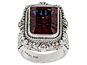 Red Hayward's Muse™ Mystic Quartz® Silver Ring 7.48ctw