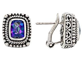 Blue  Sheer Luck ™ Mystic Topaz® Sterling Silver Earrings 3.06ctw