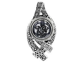 Silver Hematine Sterling Silver Pendant