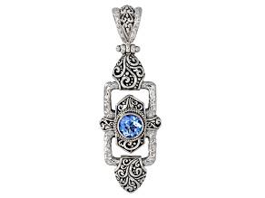 Royal Bali Blue™ Mystic Topaz® Silver Pendant 2.04ctw