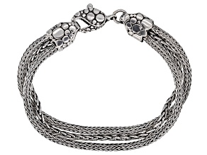 Sterling Silver Twisted Multi-Strand Bracelet
