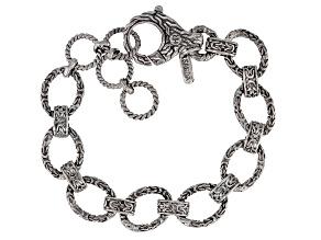 Sterling Silver Oval Chain Link Bracelet